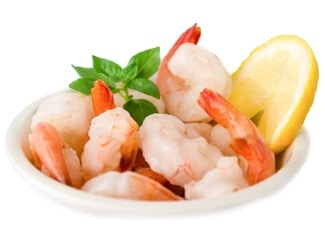 Creveti 41 50 partial decorticati pre-fierti Shrimp Peeled Partially Cooked Tail-On Seafood